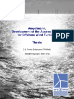 Access System for Offshore Wind Turbine