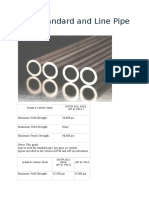 ERW Standard and Line Pipe Grades