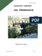 Bridgewater Township Zoning Ordinance