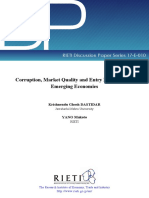 HGD Yano 2017Corruption, Market Quality and Entry Deterrence in Emerging Economies