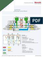 M6-15 Hochdruck-LUDV-Steuerblock High Pressure Flow Sharing Control Block