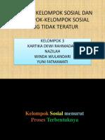 Tipe-tipe Kelompok Sosial Dan Kelompok-kelompok So