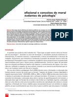 Ética e Formação Em Psicologia