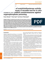 Determination of Acetylcholinesterase Activity