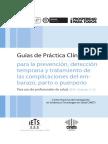 Guías de Práctica Clínica Para La Prevención%2c Detección Temprana y Tratamiento de Las Complicaciones Del Embarazo%2c Parto y Puerperio%2c 2013