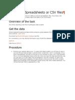 Tutorial Import Excel Ke QGis