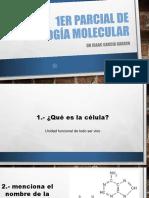 1er Parcial de Biología Molecular