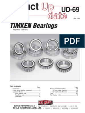 Genuine Timken 72487//72225C Tapered Roller Bearing Set Brand New Cup /& Cone