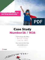 N26 - un business model disruptif dans le secteur bancaire