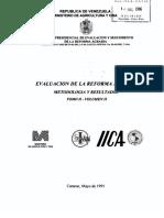Evaluacion de La Reforma Agraria