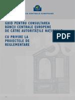 Ghid Pentru Consultarea Bce