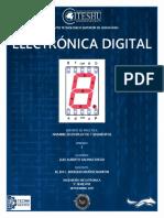 ELECTRÓNICA DIGITAL - NOMBRE DISPLAY 7 SEGMENTOS