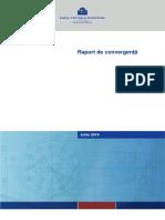 Raport de Convergenta Banca Centrala Europeana Iunie 2016