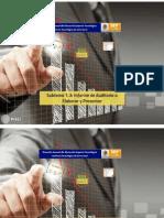 1.3 Informe de Auditoria a Elaborar y Presentar