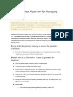 ACLS PEA Asystole Algorithm