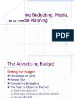 UNIT II Advertising Budget SESSION 16