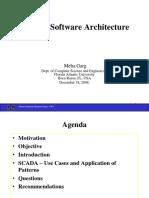 SCADA Software Architectures