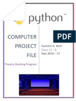 Computer Project Documentation