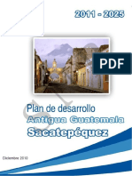 Plan Desarrollo Antigua Gt