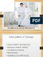 Marriage Requirement IFLA MY
