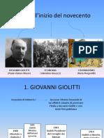 L'Italia All'Inizio Del Novecento