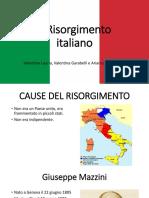 IIl Risorgimento Italiano Presentazione