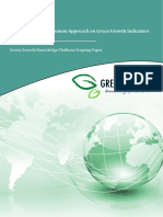 GGKP Moving Towards a Common Approach on Green Growth Indicators