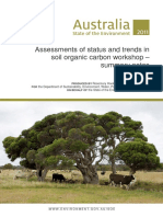 Supplementary Land Assessments Status and Trends Soil Organic Carbon Workshop Summary Notes