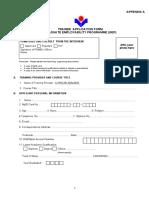 TRAINEE  APPLICATION FORM GRADUATE EMPLOYABILITY PROGRAMME (GEP)