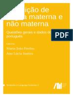 Aquisição de Língua Materna e Não Materna