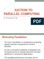 11 Introduction to Parallel Computing