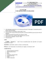 Manual de Utilizare Scalex 880
