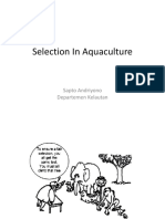 2. Selection in Aquaculture