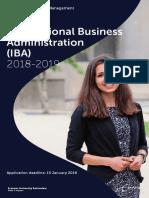 IBA Brochure 2016-2017