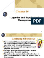 ch16 Logistics and Supply-Chain Management
