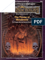AD&D Throne of Bloodstone (18 - 100) - H4