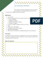 respectful behaviours assessment information