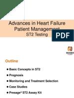 Advances in Heart Failure, Patient Management, ST2 Testing