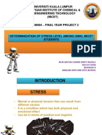 Presentation Stress in UNIKL