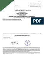 Agency Approvals Spiral GH506_BV