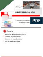 MT221 Unidad 2a Características de Los Sistemas de Control Realimentados