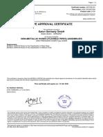 Agency Approvals Spiral GH200_BV