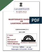 Maintenance handbook on Lightening Arrester(1).pdf