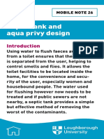 Septic Tank and Aqua Privy Design