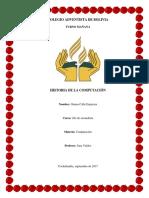 Monografia Historia de La Computadora