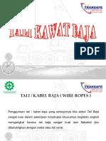 1. Tali Kawat Baja -Panit