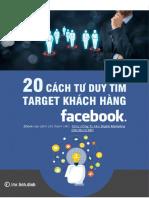 20 Cách Tìm Ra Target Khách Hàng Trên Facebook