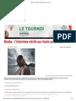 Booba _ l'Interview Vérité Sur Toute Sa Carrière3
