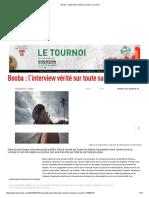 Booba _ l'Interview Vérité Sur Toute Sa Carrière