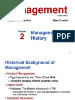 Evolution of Mgmt